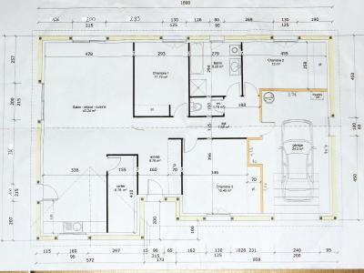 Vente LONS LE SAUNIER (39), maison plain-pied (2016), de 116 m² sur terrain de 743 m², PLANS
