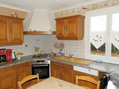 Secteur MERVANS (71), vends maison familiale 110 m² env. + dépendances, sur terrain 5500 m², CUISINE EQUIPEE 10.50 m²