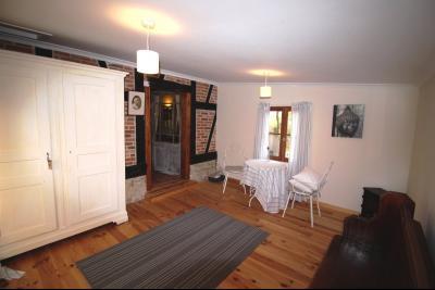 ST GERMAIN DU BOIS, à vendre ferme bressane rénovée de 7 pièces sur terrain de 8000 m²., Chambre / Bureau rez-de-chaussée