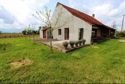 Bellevesvre (71 - Saône et Loire), à vendre maison rénovée avec 2 chambres et dépendances., Maison secteur Bellevesvre