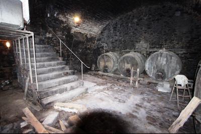 Poligny (39 JURA), à vendre belle demeure du 15° siècle à rafraichir et personnaliser., Cave voutée