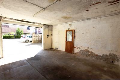 Bletterans centre, à vendre maison de ville avec garage, 1 chambre., Garage 29 m² avec hateur de 2,80 m