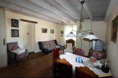 Pierre de Bresse, vends maison de caractère avec gîte indépendant sur 1700 m² de terrain, Séjour / Salon