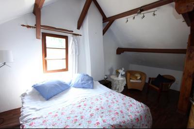 Pierre de Bresse, vends maison de caractère avec gîte indépendant sur 1700 m² de terrain, Chambre étage
