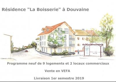 Vends 74140 Douvaine, centre ville, appartements Type T2.,