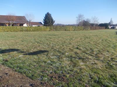 Secteur Chaussin, vends beau terrain à bâtir plat de 2000m², vue coté droit