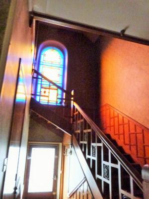 LONS-le-SAUNIER 18km JURA Vends Maison de Maître 255m²env. idéale chambres hôtes,activité artistique, Chambre 4 niveau 2 dans tour carrée