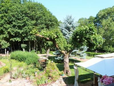 LONS-le-SAUNIER 39 JURA à 20km- Vends demeure de caractère dans beau village viticole sur 4750m²env., Vue sur le parc