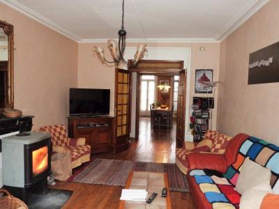LONS-LE-SAUNIER 39000 JURA Plein Centre Appartement 139m²env. 1er étage - 3 chambres., Cheminée gainée dans le salon (pour poêle boi)