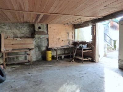 ORGELET JURA 39 11km Vends Ancienne FERME en pierres -à rénover-(vastes dépendances,jardin, verger), Intérieur du grand garage et sa forge