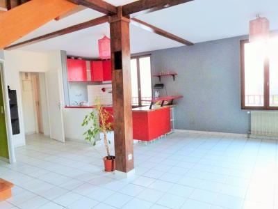 LONS-LE-SAUNIER 39000 Proche centre Vends MAISON de VILLE 60m²env. mitoyenne 1 seul côté, 2 garages, Pièce de vie  - vue 4