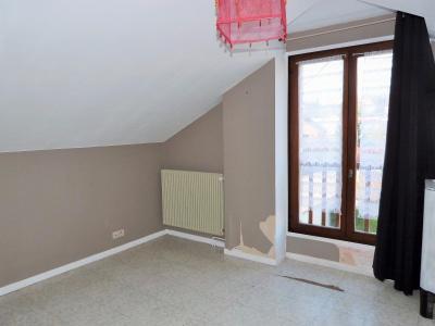 LONS-LE-SAUNIER 39000 Proche centre Vends MAISON de VILLE 60m²env. mitoyenne 1 seul côté, 2 garages, Chambre 1 - vue 2 -