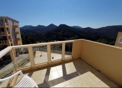 Théoule sur Mer (06 Alpes Maritimes), à vendre dernier étage avec vue mer panoramique, 2 terrasses, terrasse chambre