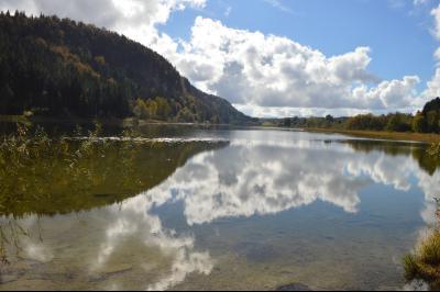 ETIVAL, entre Clairvaux les lacs et Haut Jura, maison actuellement 2 gîtes sur un ancien atelier., Lac d
