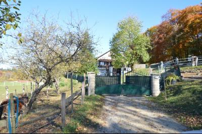 ETIVAL, entre Clairvaux les lacs et Haut Jura, maison au calme de 6 pièces sur 1 ha, idéal cavaliers, cave sur gravier