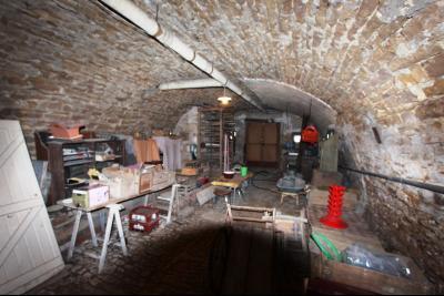 Secteur Sellières (39 JURA), à vendre maison sur grand sous-sol, 2 chambres, 600 m² de terrain., CAVE VOUTEE 49 m²