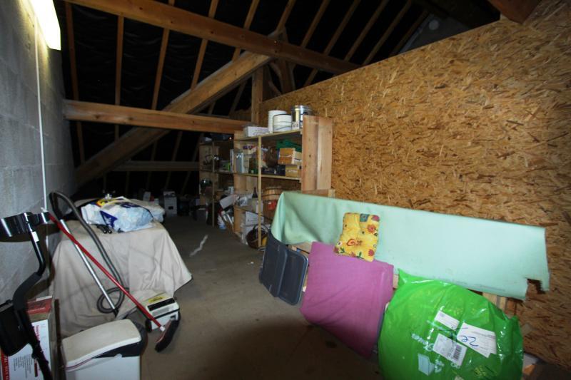 Grenier garage