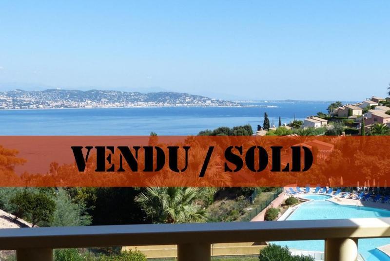 Th�oule sur Mer (06 Alpes Maritimes), � vendre appartement avec vue mer panoramique, parking & cave
