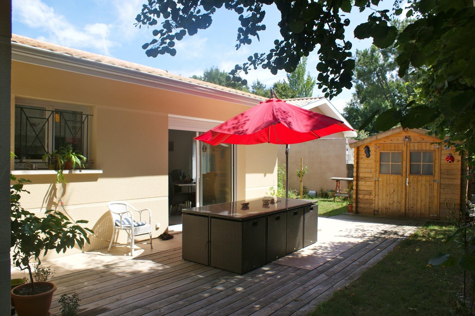 Gujan villa f3 avec garage for Entretien jardin gujan mestras