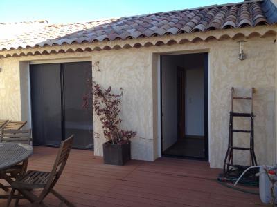 Appt T4 totalement rénové 100m² avec terrasse 40m² et 1 place de parking  dans un garage fermé