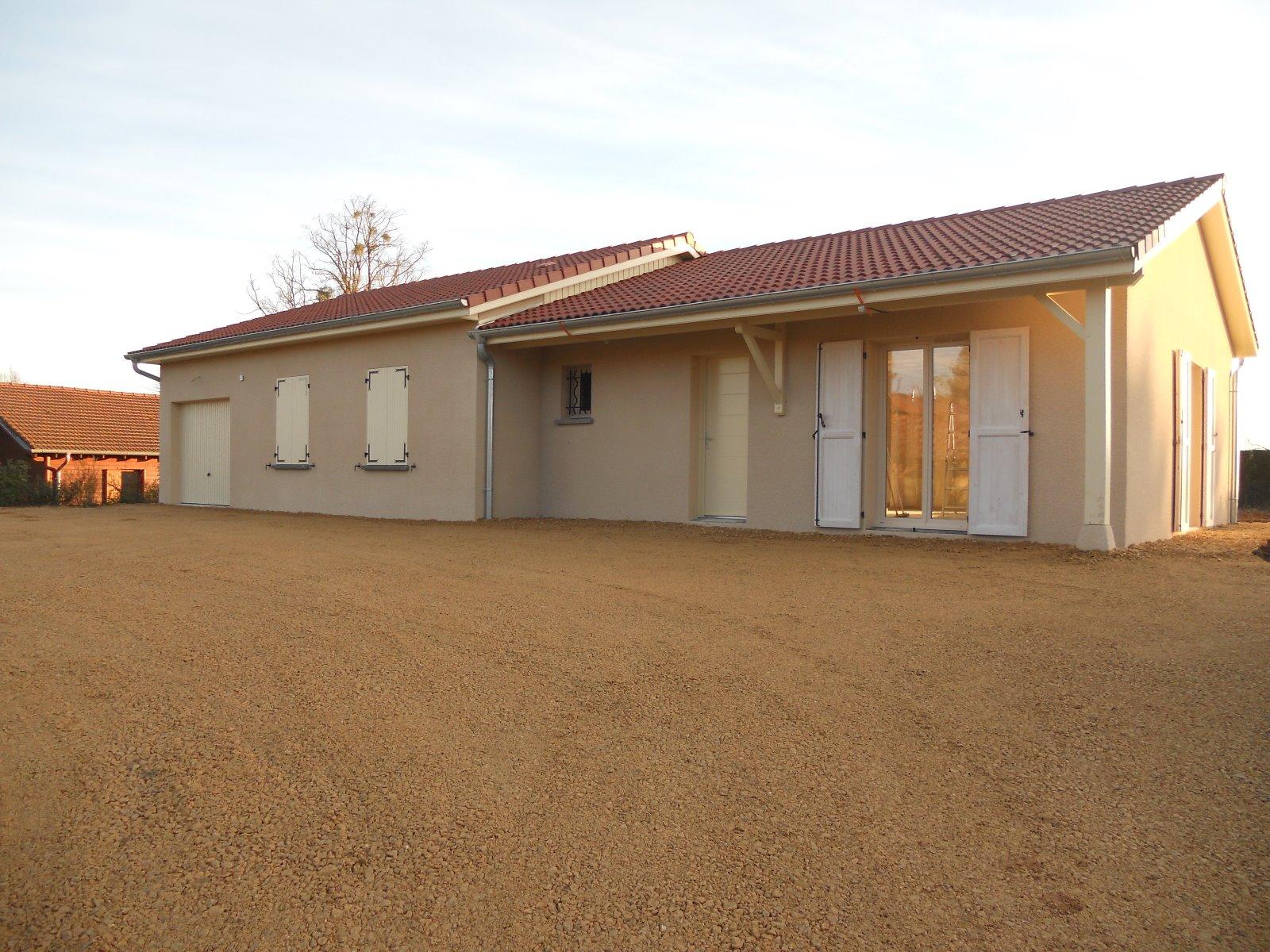 Saint jean sur reyssouze a vendre maison neuve 110 m for Maison neuve plus terrain