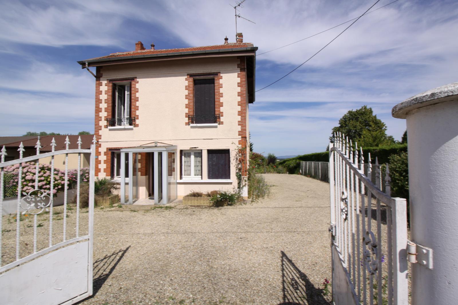 Montevel en bresse a vendre maison des ann es 30 terrain de 1055 m immobresse - Maison des annees 30 ...