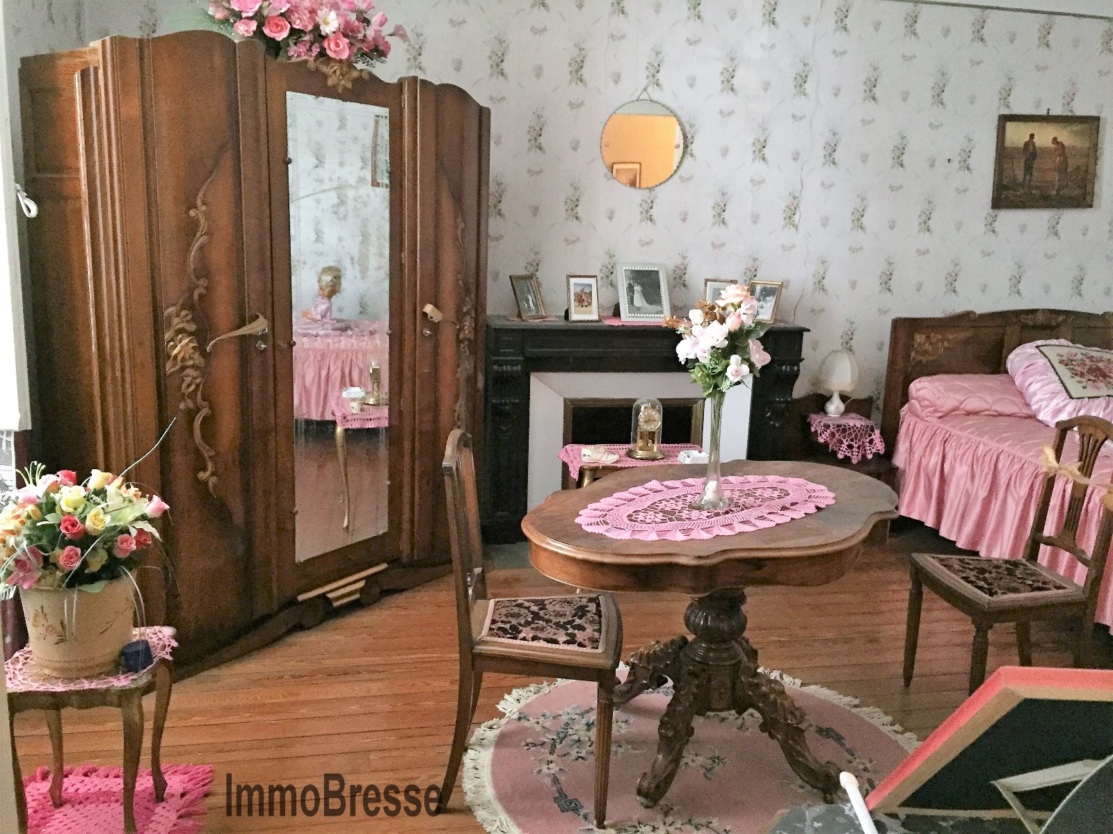 Centre de Varennes A vendre grande maison 6 chambres ImmoBresse