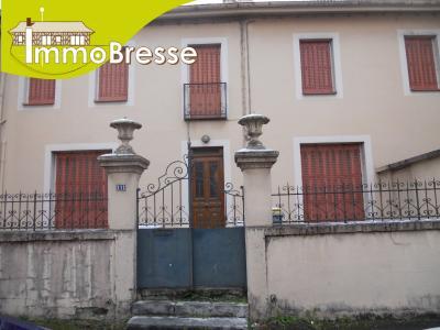 Viriat limite bourg la neuve - A vendre grande maison bourgeoise 300 m² hab