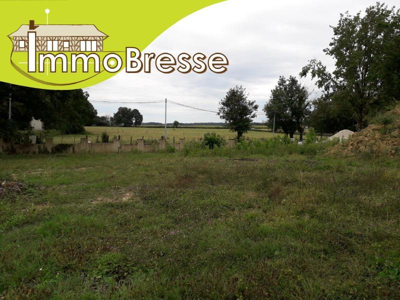 Saint Etienne sur Reyssouze - A vendre terrain de 1 282 m²