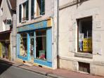Vente  Maison 102m²+boutique 60m² Gien Loiret 45