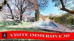 Vente VILLA TRADITIONNELLE T7 230 M² ST MAXIMIN 83 VAR VISITE IMMERSIVE 3D SUR NOTRE SITE WEB.