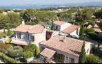 Vente Six-Fours,LE BRUSC,  Belle Villa Provençale avec T2 de 208m2  , proche plages, , Var 83