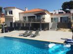 Vente Bandol, villa T5 de 181m² sur 1058m² de terrain, Vue mer, piscine, T1 indépendant, , Var 83.