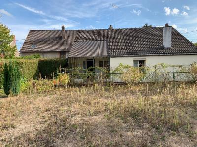 A Vendre maison de plain pied type 4 sur 1114m2 de terrain Gien 45 Loiret