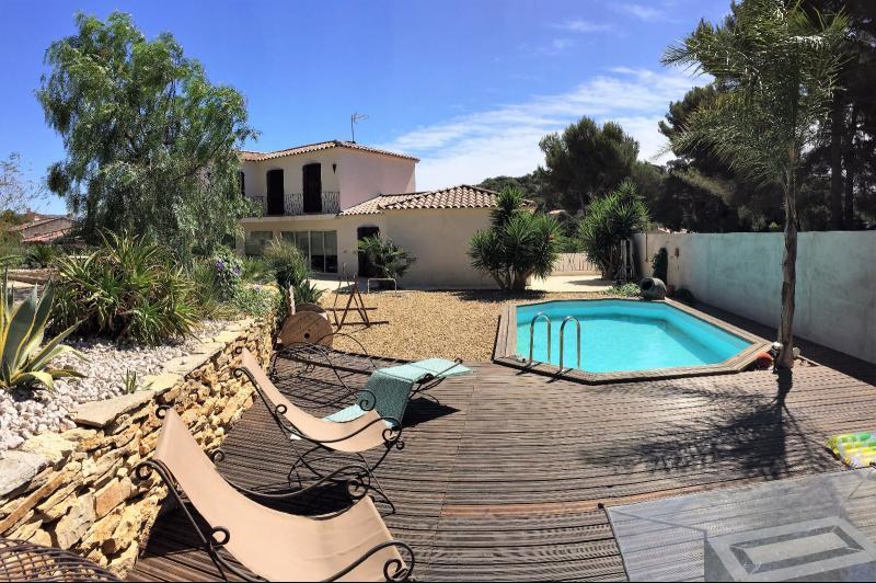 Vente La Seyne, proche Six Fours, Magnifique Villa T7 183 m² sur 1011m², piscine, garage, ,Var 83