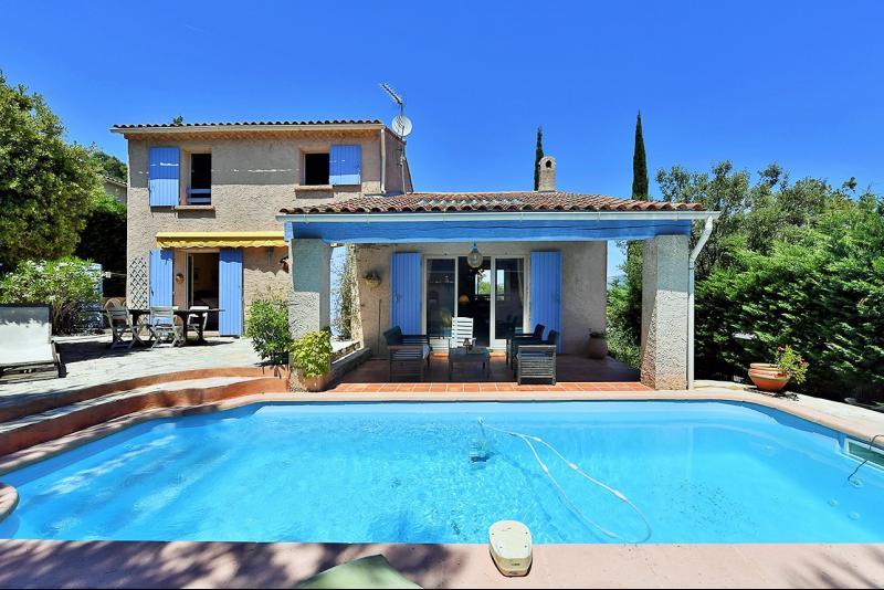 Vente La Seyne sur mer, Janas, villa T4 de 170 m2,au calme, piscine, sous sol, garage, , Var 83