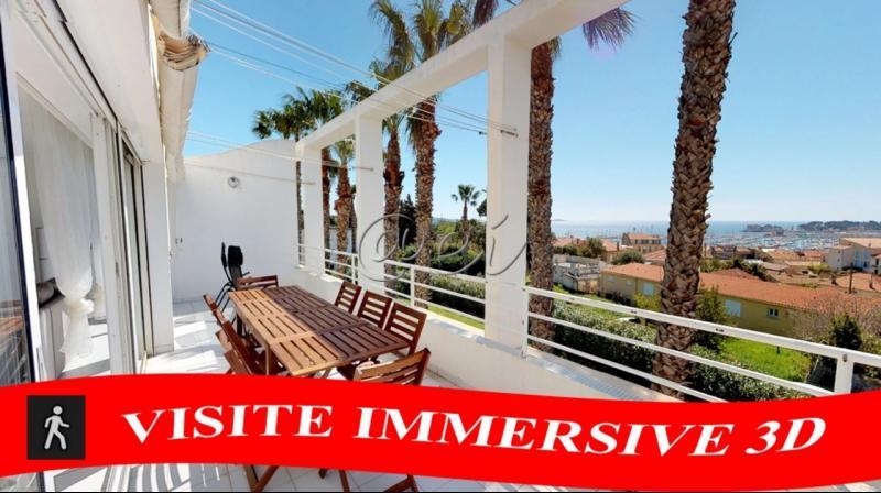 Vente Bandol RARE, T4 de 96.86 m2 carrez, Vue mer panoramique, terrasse, garage, , Var 83
