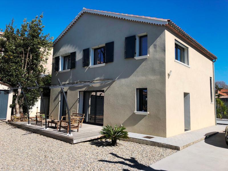 Vente Six Fours, Villa comtemporaine de 135m² sur 998m², piscine, pool house, garage, , Var 83.