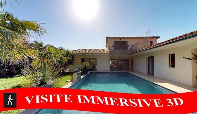 Vente Le Castellet, villa récente de 180m², piscine terrain 946 m² clos et arboré , Var 83