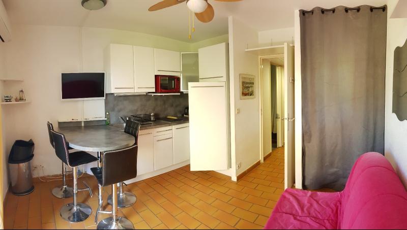 Vente Saint Mandrier, Rés. Cap Soleil, studio cabine 21m² avec terrasse/jardinet 20m², , 83 Var