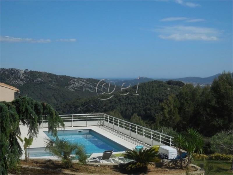 Vente La Cadière,vue imprenable, villa de 280m², terrain 5400 m² ,Var 83