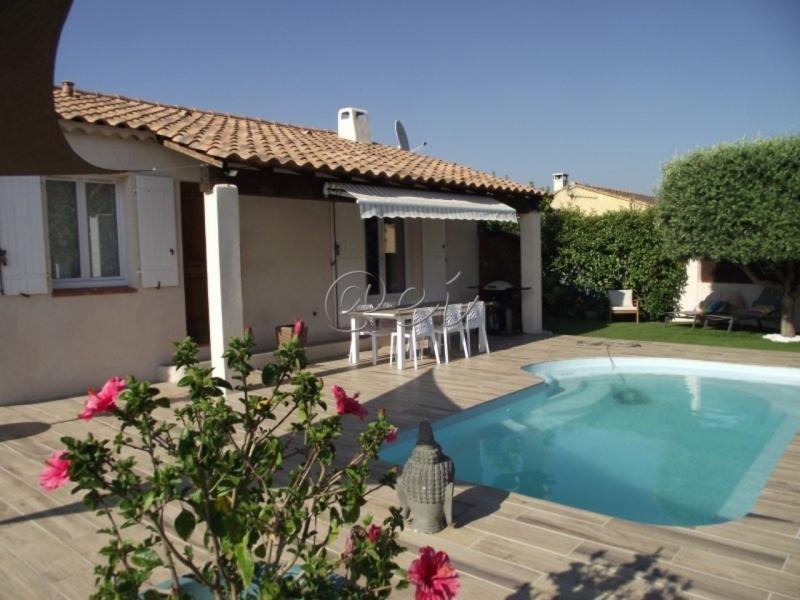 Vente Ollioules, maison de plain pied de 90 m² terrain de 547m² piscine, , Var 83