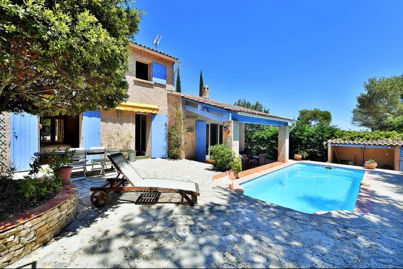 Vente La Seyne sur mer, Janas, villa T4 de 150 m2,au calme, piscine, sous sol, garage, , Var 83