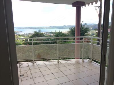 Le Robert, Bel appt F2 avec une vue mer sur les ilets imprenable Agence Accord Immobilier, Martinique