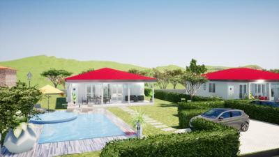 Trinité, Maison F4 de plain pied sur un terrain plat Agence Accord Immobilier, Martinique