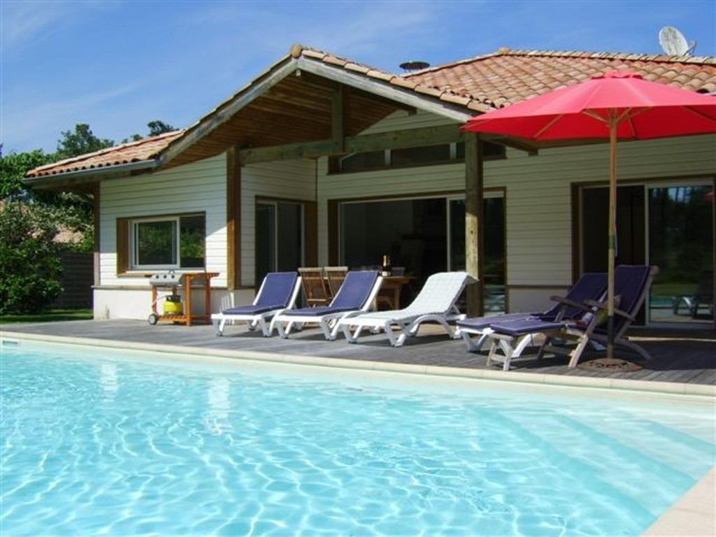 villa type 5 avec piscine la prade club royale moliets et maa era landes ocean. Black Bedroom Furniture Sets. Home Design Ideas