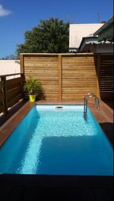 Carbet Maison F3 bis avec piscine