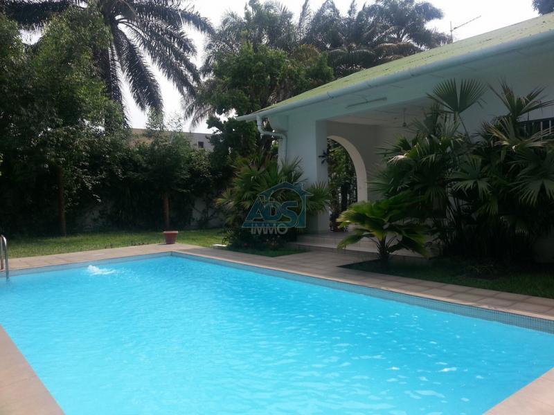 Belle villa à louer à la Gombe