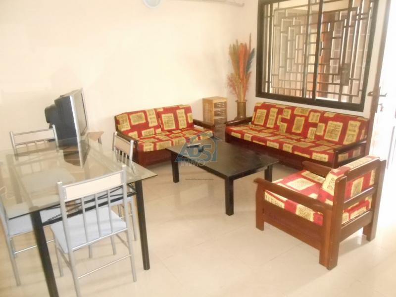 Appartement meublé de 2 chambres en location à la Gombe
