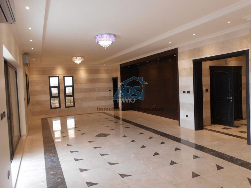 Superbe penthouse de 4 chambres à louer à la Gombe